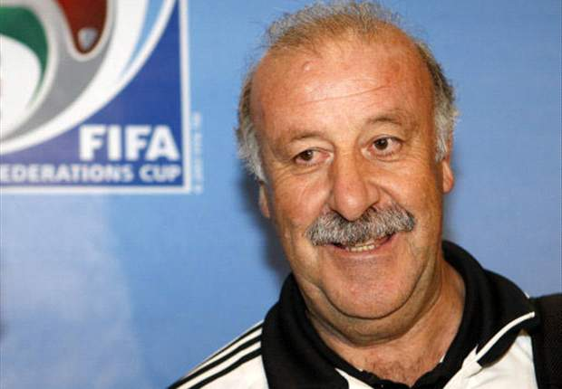 Vicente Del Bosque: Spain Are Comfortable Being Favourites
