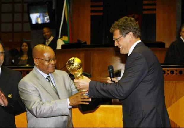 South African President Jacob Zuma Wants Benni McCarthy Back In Bafana Side - Report