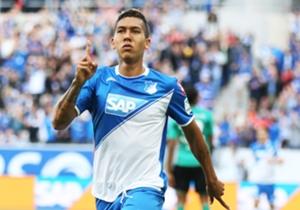 Roberto Firmino, 23 anos, atacante do Hoffenheim (Alemanha).