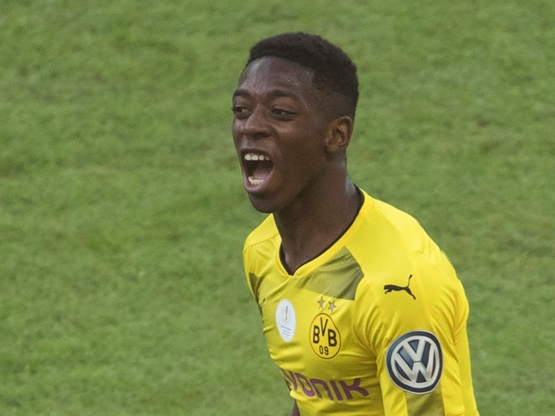 Borussia Dortmund star Dembele wins Bundesliga Rookie of the Season award