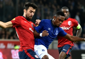 Samuel Eto'o Lille Everton 10232014