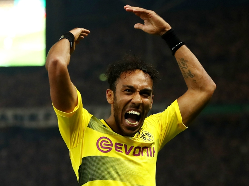 Borussia Dortmund respond to reports Aubameyang agreed January move to China