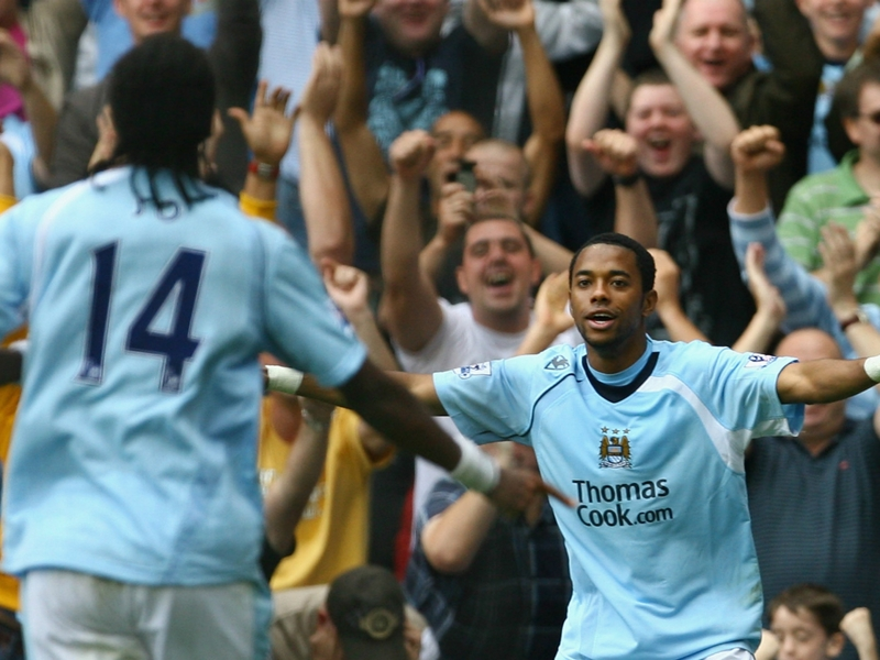 'Robinho thought he'd be playing rugby in England!'