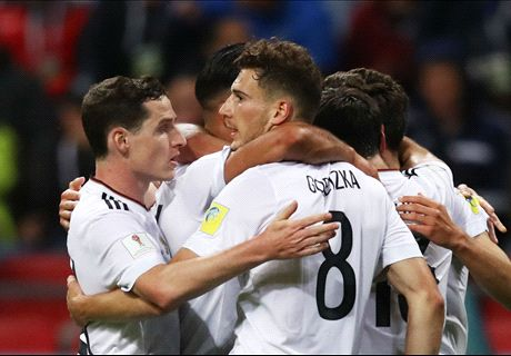 Germany work out draw with Chile