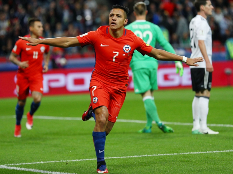 Record-breaking Alexis Sanchez shining brightest for Chile's golden generation