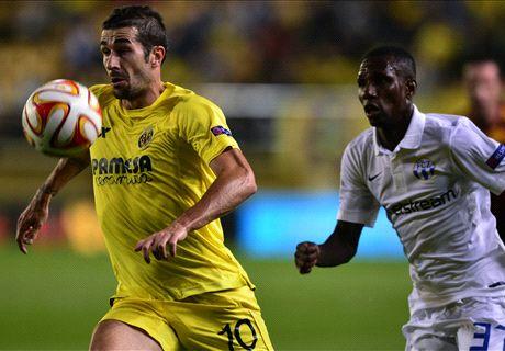Villarreal 4-1 Zurich: Calificaciones