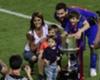 El curioso saludo de Antonella a Messi