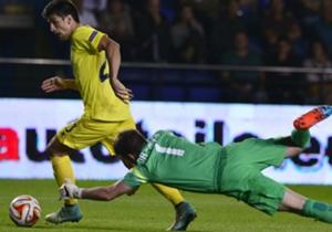 Villarreal forward Gerard Moreno