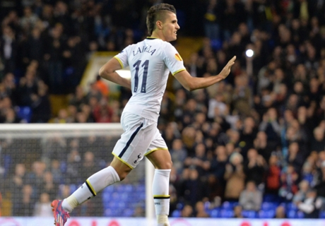 Lamela nets stylish rabona as Spurs fly
