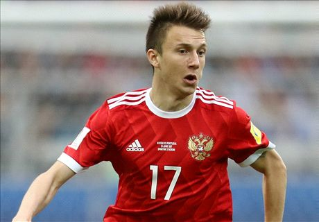 Golovin offers Russia hope for the future