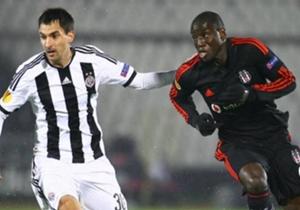 Miladen Stevanovic Demba Ba Partizan Besiktas UEL 10232014