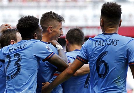 NYCFC breaks Red Bull Arena drought