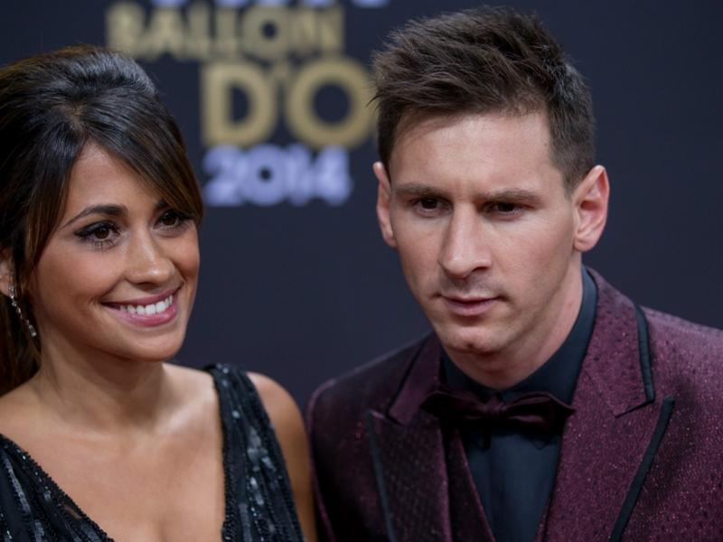 Revealed: Barcelona star Messi's wedding menu
