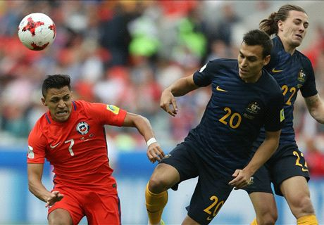 Chile avoid Australia embarrassment