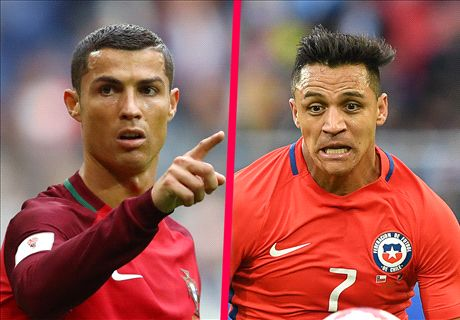 Portugal vs Chile in Confeds semis