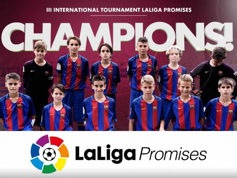 Barcelona beat Real Madrid to win La Liga Promises
