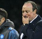 """Benitez: """"E' mancata la voglia di vincere""""."""