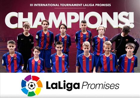 Barca beat Madrid in LaLiga Promises