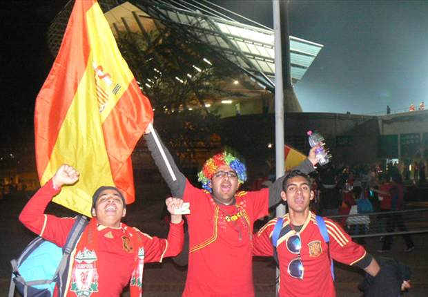 Confederations Cup: We're Supporting Spain Because We Love Liverpool, Say Local Fans