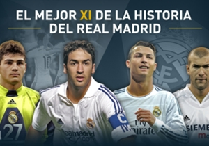 Goal presenta el XI Ideal en la historia del Real Madrid
