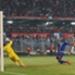 Cavin Lobo of Atletico de Kolkata scores goal during ISL match against FC Goa