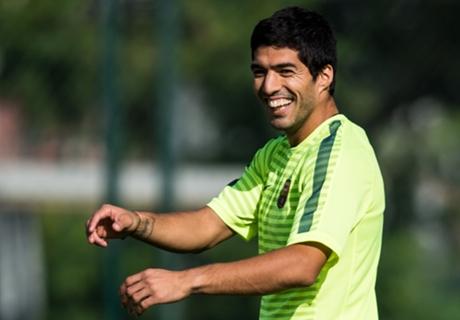 Debut Luis Suarez Di El Clasico