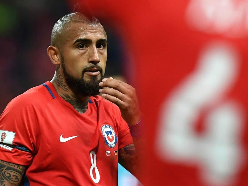 L'Inter ne recrutera pas Arturo Vidal