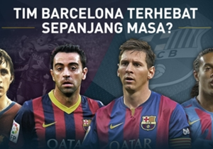 Jelang el clasico, Goal Spanyol mengadakan polling untuk memilih Barcelona XI terbaik sepanjang masa. Siapa saja yang masuk?