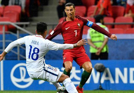 FT: Portugal 0-0 Cile (Adu Pen. 0-3)