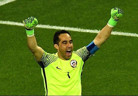 บราโวสามเซฟ! ชิลีแม่นโทษดับโปรตุเกส 3-0 (0-0) ลิ่วชิงคอนเฟดฯ