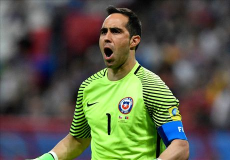 Bravo the penalty hero for Chile
