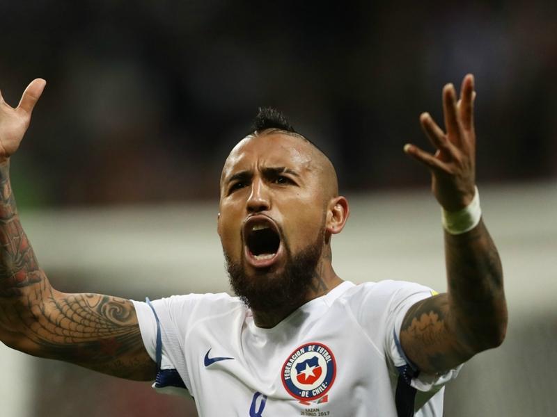 Chili, Arturo Vidal aimerait affronter l'Allemagne en finale