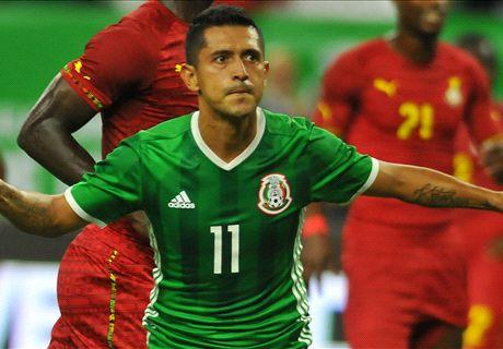 LIVE: Mexico vs. Ghana