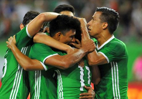 Mexico takes narrow win over Ghana