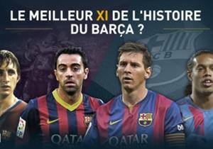 Avec l'aide des lecteurs de Goal Espagne, nous avons sélectionné les meilleurs joueurs de l'Histoire du FC Barcelone.