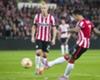 PSV ruikt zege, maar verliest in slotfase