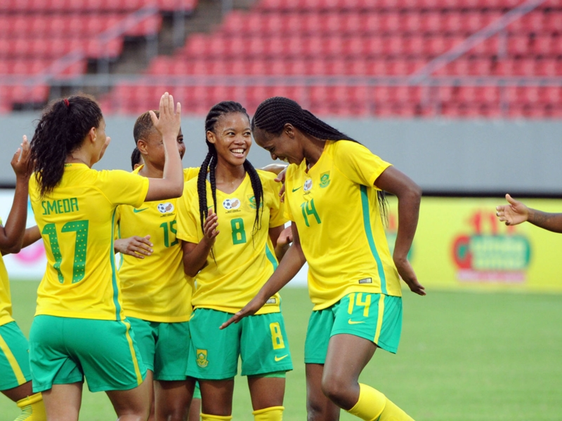 South Africa - Equatorial Guinea: Banyana out to compound Nzalang's woes
