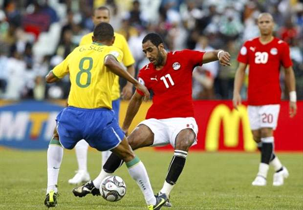 Shawky scored a famous goal against Brazil in 2009.