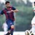 War wegen einer Beißattacke gesperrt: Barcelonas Luis Suarez (li.)