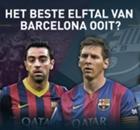 Messi, Cruijff en Koeman in beste elftal van Barcelona ooit