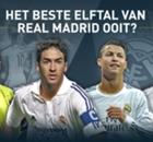 Ronaldo, Raúl en Zidane in beste elftal van Real Madrid ooit