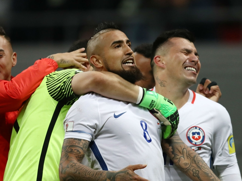 Vidal: Confederations Cup glory would make Chile the world's best national team