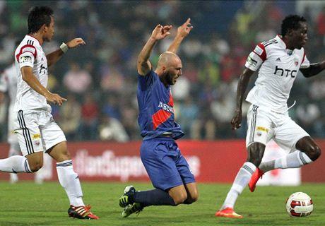 NorthEast United down Mumbai City