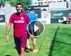 VÍDEO: Augusto Fernández se recupera a ritmo de samba