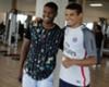 Thiago Silva e Marlon no Fluminense
