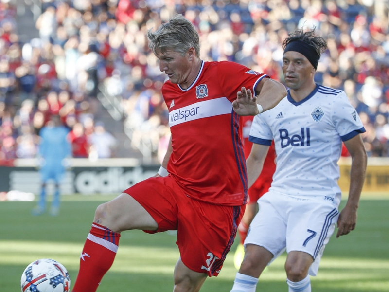 MLS Review: Schweinsteiger hurt as Fire go top, Earthquakes win Clasico
