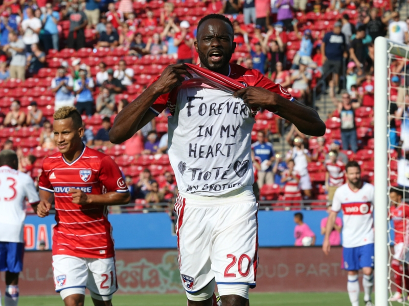 Lamah pays tribute to 'brother' Tiote as MLS acclimation continues