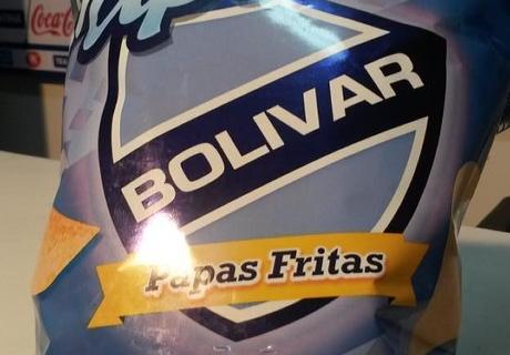 ¡Papas fritas Bolívar!