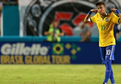 Neymar juega un partido importante