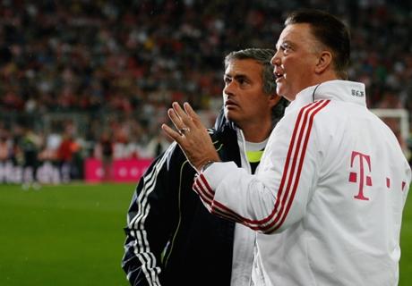 Mourinho et Van Gaal, entre rivalité et amitié de longue date